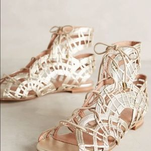 Joie NWT Renee lace up gladiator leather sandal